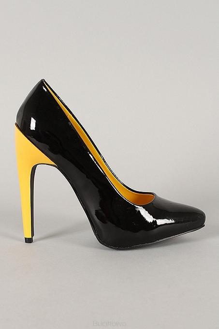 08315ba3 Czarne lakierowane czółenka Sunny09 - Bucikowo - Mode obuwie damskie